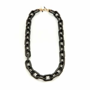 Kaleos eyewear - Square resin chain black • Frames and Faces