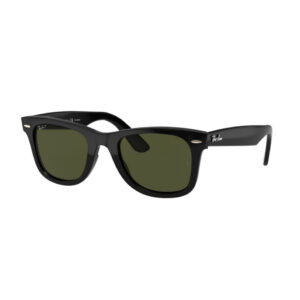 Ray-Ban - 4340 Wayfarer zwarte zonnebril • Frames and Faces