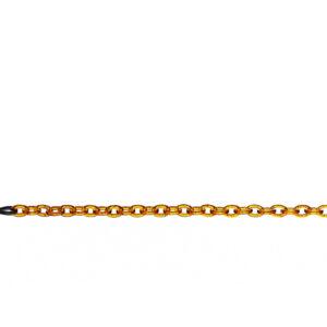 Blush - lichtbruine Chain Cherie brillenketting • Frames and Faces