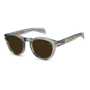 David Beckham 7041S transparant grijze zonnebril • Frames and Faces